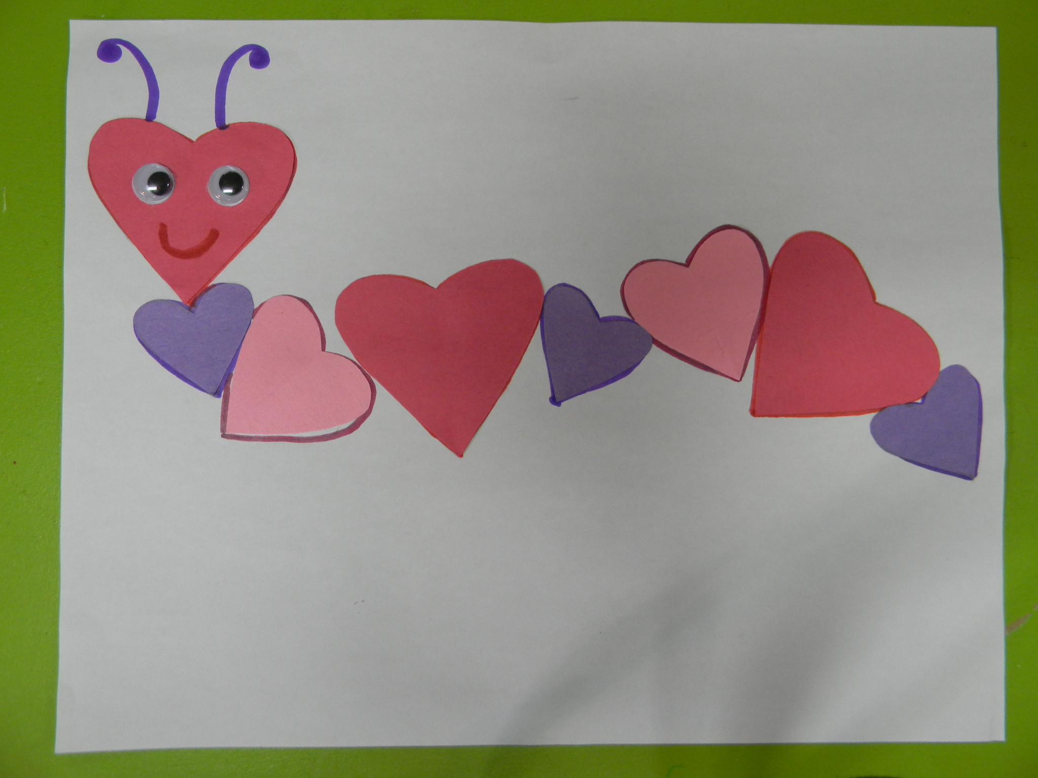 Encore des bricos cole des sens et autisme - Bricolage facile st valentin ...