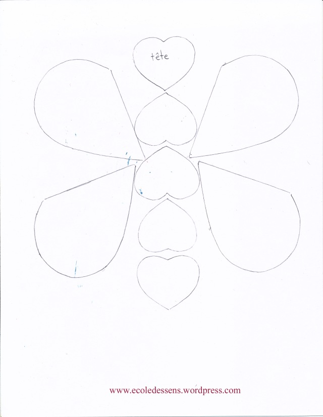 modèle de papillon