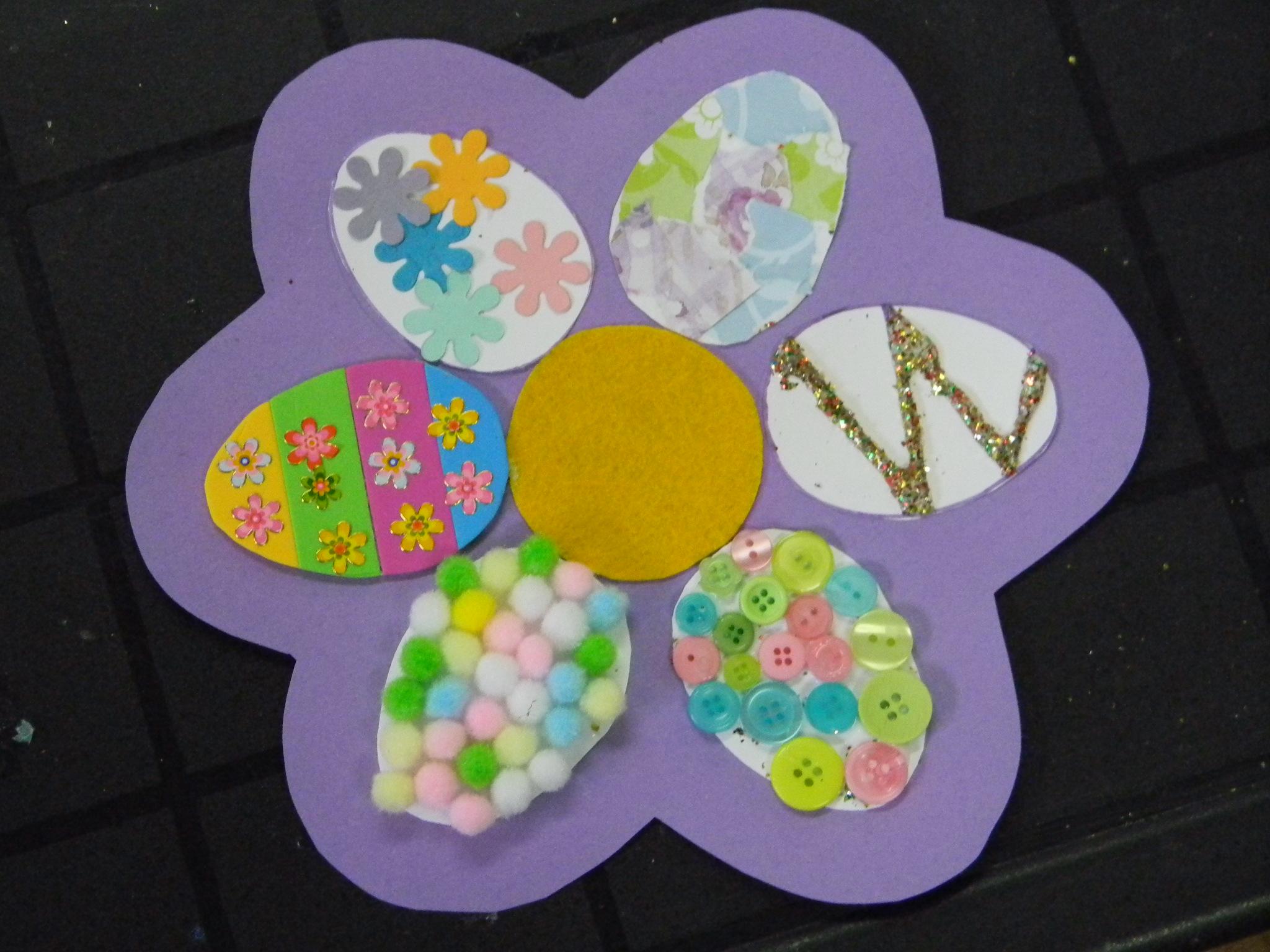 Bricolage de p ques cole des sens et autisme Bricolage printemps objets naturels idees