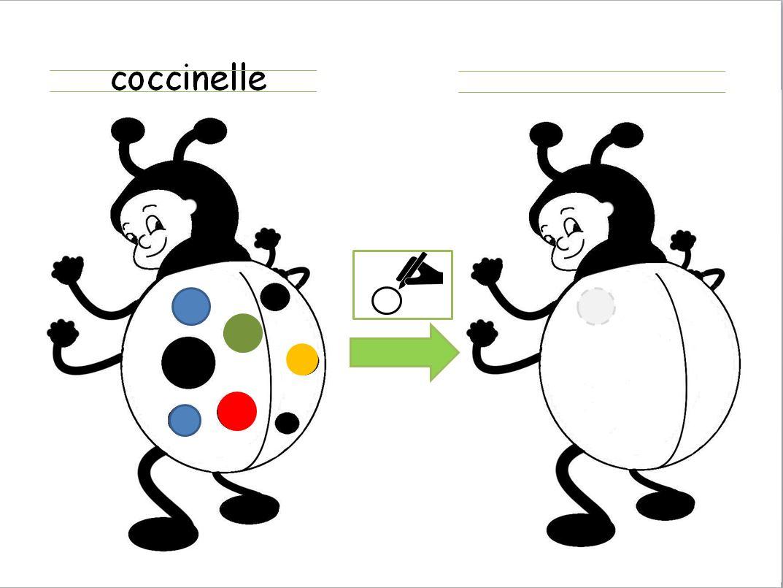 Calligraphie coccinelle et parapluie cole des sens et - Dessiner une coccinelle ...
